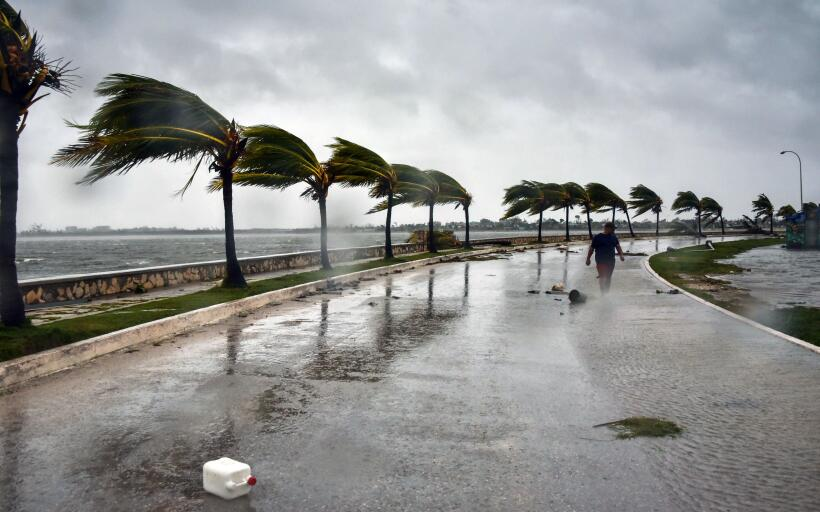 Hurricane Irma hits Cuba hard causing major flooding GettyImages-8449807...