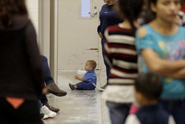 Lo más preocupante es que entre los migrantes hay una enorme cifra de ni...