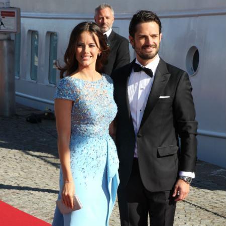 Sofía y Carlos Felipe de Suecia