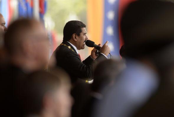 El mandatario agradeció a la Fuerza Armada Nacional Bolivariana s...