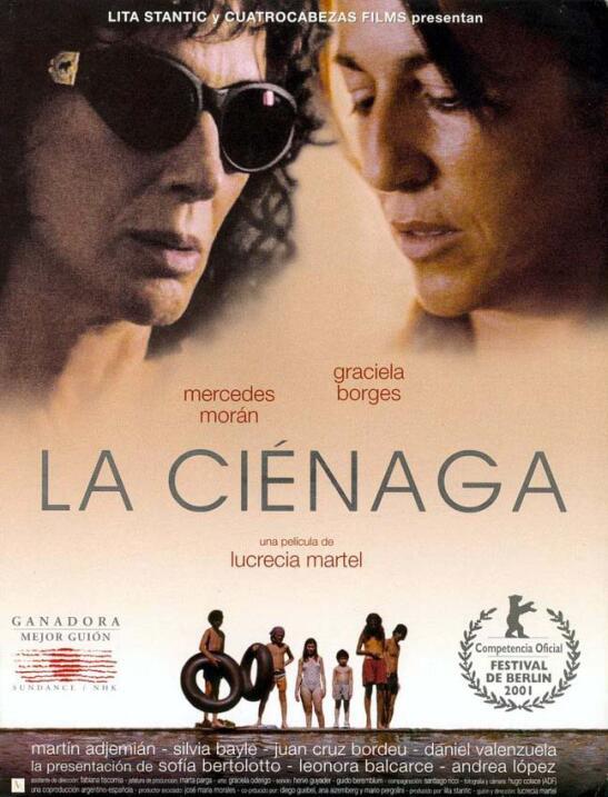 La ciénaga(2001), ArgentinaDirector: Lucrecia MartelReparto: Merc...