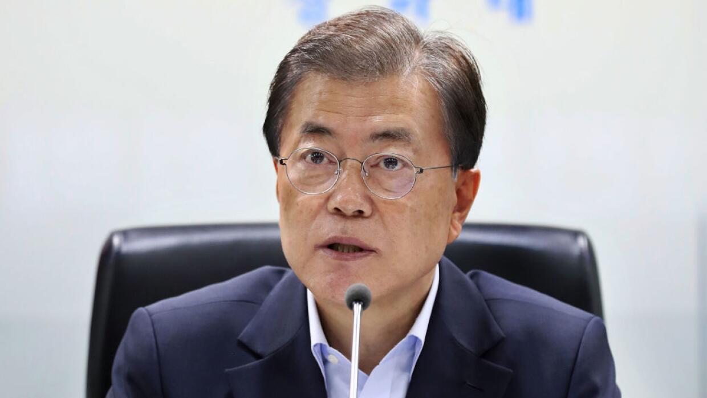 Moon Jae-in intenta aliviar las crecientes tensiones con el Norte y cump...