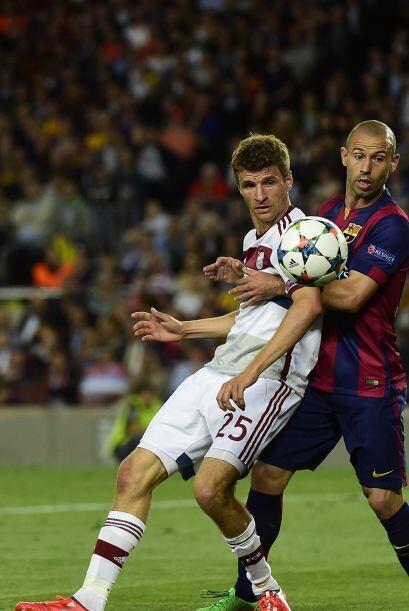 'Masche' mostró desde el Mundial que es un futbolista insustituible y co...