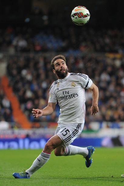 15 DANI CARVAJAL.- El lateral derecho del Real Madrid no ha tenido un a&...