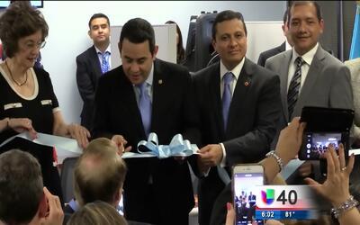 Inauguran primer Consulado de Guatemala en Raleigh