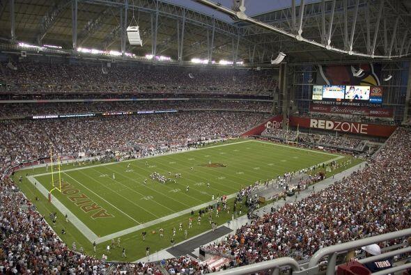 Jueves, Dic. 10 -- Vikings vs. Cardinals, University of Phoenix Stadium,...