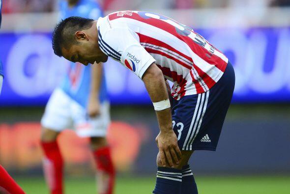 En el caso de las Chivas, una derrota del equipo combinada con triunfos...