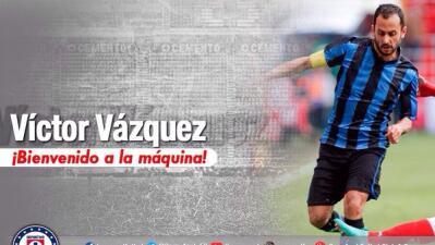 El español Víctor Vázquez ya es de Cruz Azul