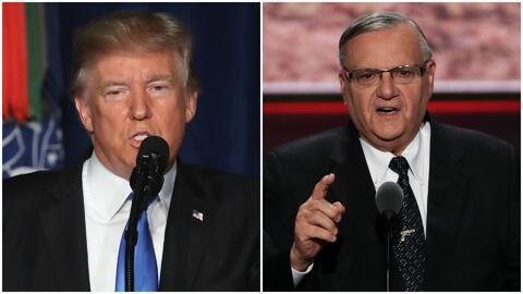 Visita de Trump en Phoenix podría conceder el perdón al exalguacil Joe A...