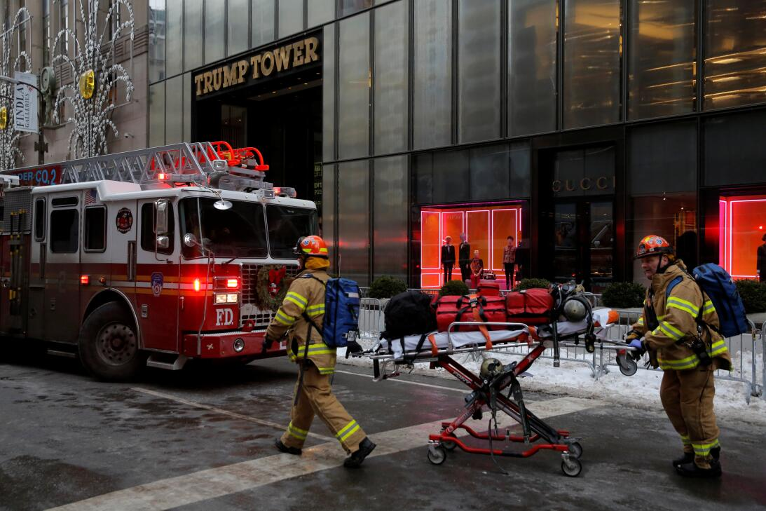 Incendio Torre Trump