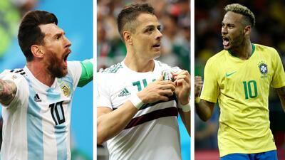 Las selecciones campeonas del mundo predominan en un sector rumbo a la Final de Rusia 2018