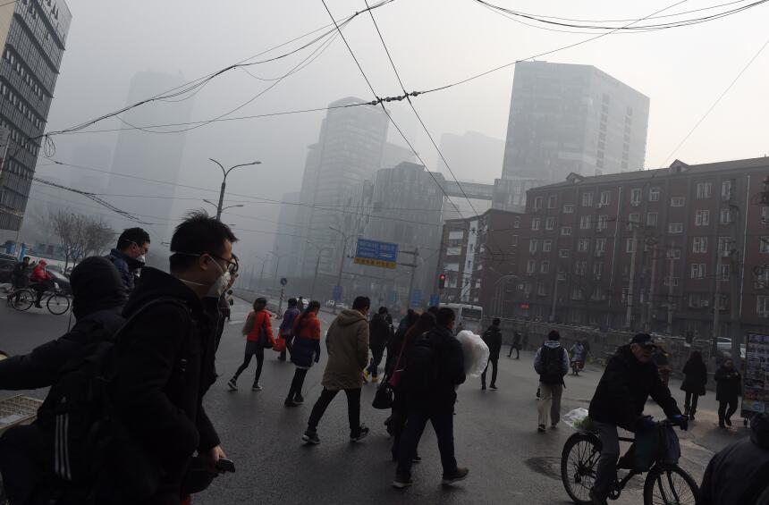 Contaminación en Pekín: nueva alerta roja pekin8.jpg