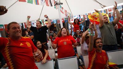 Mundial de Rusia: así vivieron los fanáticos el partido entre Portugal y España