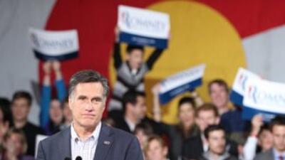 La postura antiinmigrante del candidato presidencial republicano Mitt Ro...