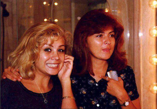Gaby y Victoria Ruffo