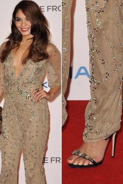 Nos queda claro que la inclinación de Vanessa está en las zapatillas abi...