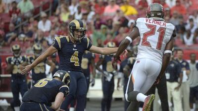 Los Rams lograron su primera victoria de la temporada al derrotar a los...