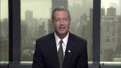 """""""Ese tipo de discurso nos hace daño como nación"""": Martin O'Malley sobre..."""