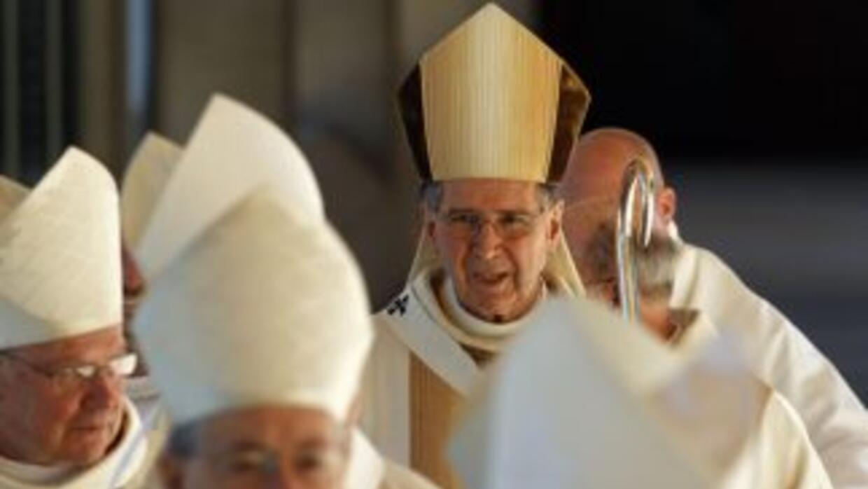 Cardenal Roger Mahony, arzobispo emérito de Los Angeles.