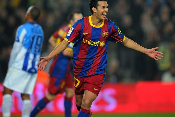 Pedro aprovechó un balón en el área grande y lo envió a las redes rivales.