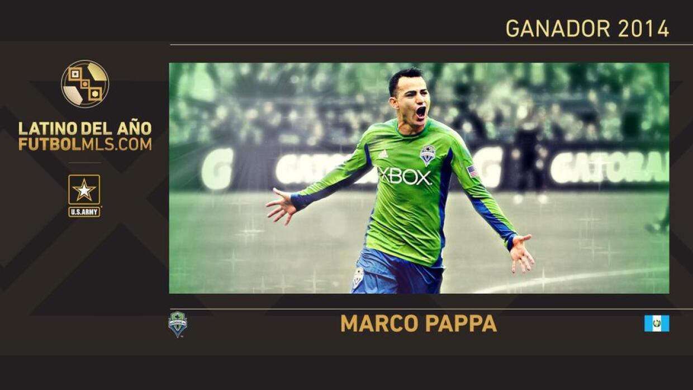 Marco Pappa  Latino del Año 2014 en la MLS.