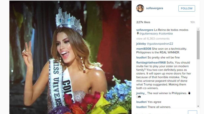 Instagram de Sofía Vergara
