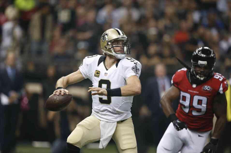 Los New Orleans Saints vencieron 31 - 21 a los Atlanta Falcons S6 NFL