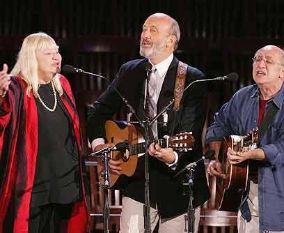 La Mary de Peter y PaulEl trío de música folk norteamericana 'Peter, Pau...