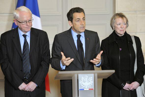 Incluso sostuvieron varias reuniones con el presidente francés, N...