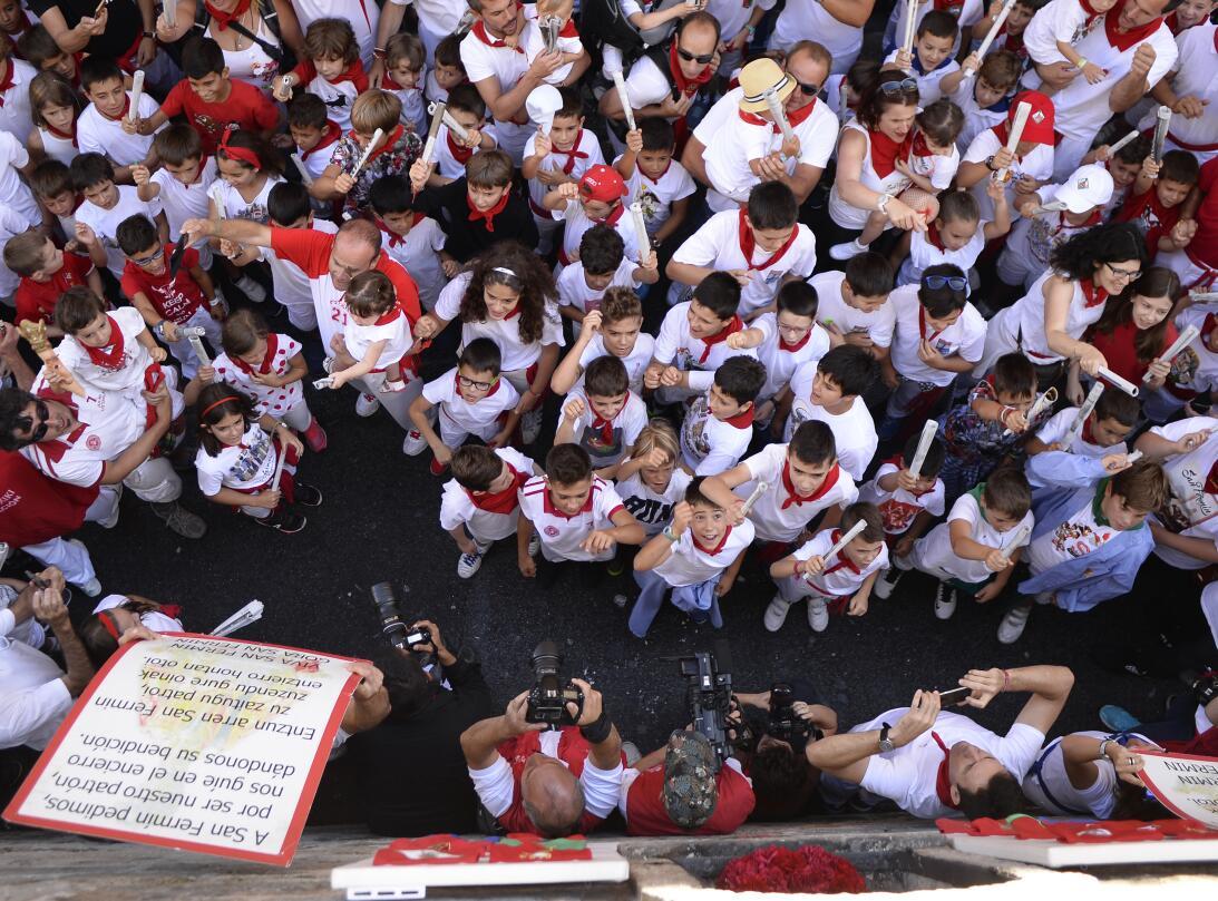 Fiestas españolas de San Fermín: ¿tortura o tradición? GettyImages-81383...