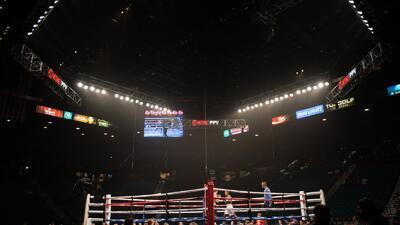 EN VIVO | Pacquiao y Broner ya están arriba del ring del MGM Grand