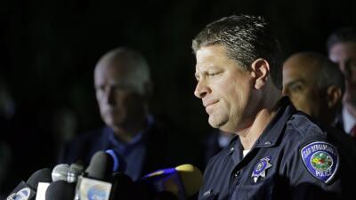 Mike Madden, teniente de la Policía de San Bernardino