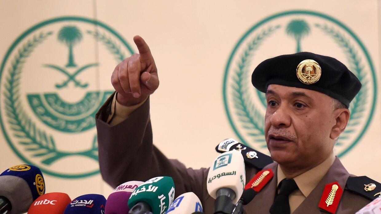 El general Mansour al-Turki.