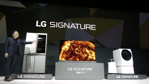 La presentación de LG