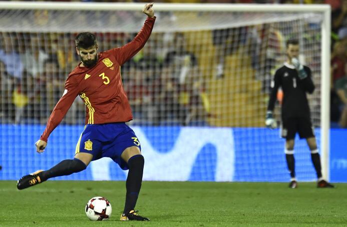 España se convirtió en el clasificado 11 a Rusia 2018 gettyimages-858411...
