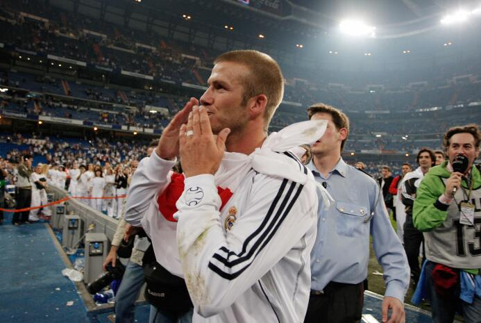 David Beckham, una diestra que sobrepasó a la estampa del 'Spice Boy' ge...