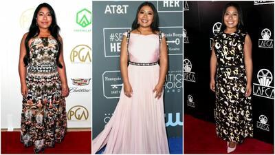 Yalitza Aparicio se podría robar todas las miradas en los Oscar por su forma de vestir
