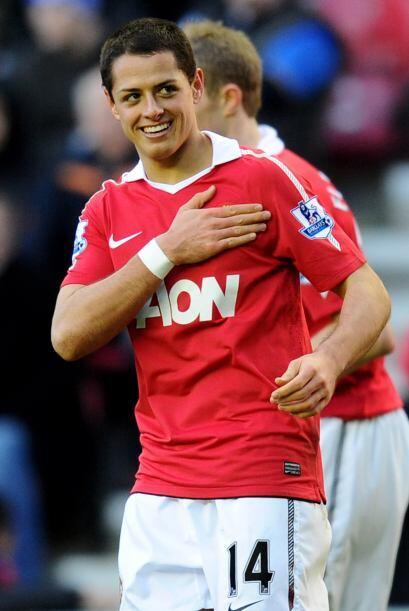 Javier Hernández le dio la victoria al 'Man-U' sobre el Everton luego de...