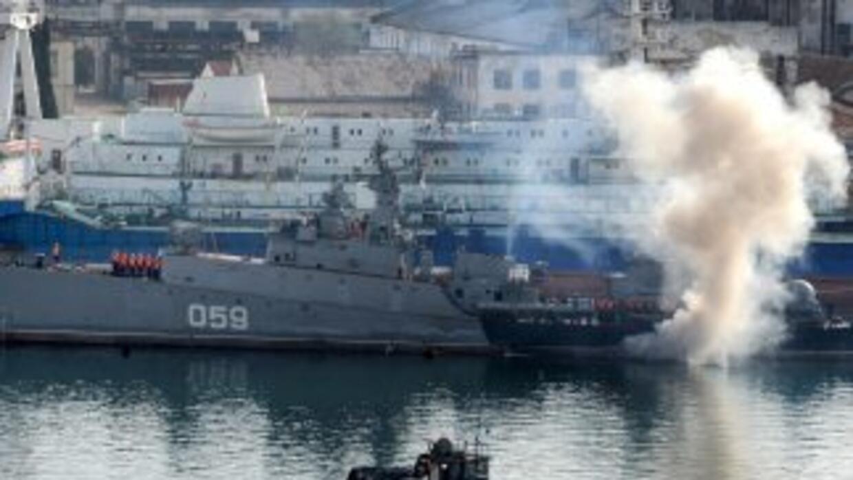 La renuncia de Ígor Tiniuj llega luego de que la Armada ucraniana perdie...