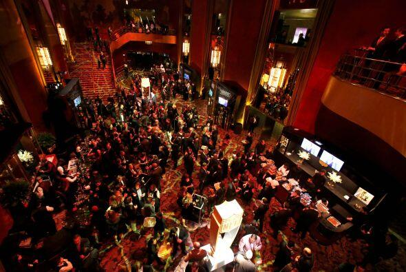 El ambiente en el Radio City Music Hall de Nueva York (AP-NFL).