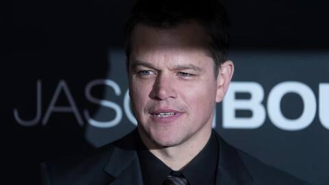 Matt Damon pide prohibición de armas en USA