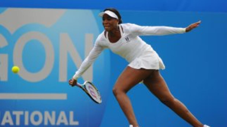 Venus ganó a la alemana Petkovic en un partido en el que se anotó cuatro...