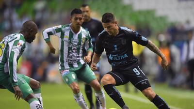 En fotos: León no supo ganar y reparte puntos ante un Querétaro con 10 hombres