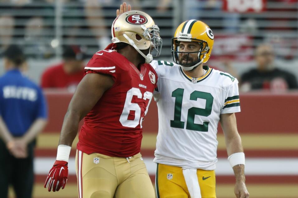 Draft 2005 – Aaron Rodgers pudo jugar para San FranciscoLos 49ers tenían...