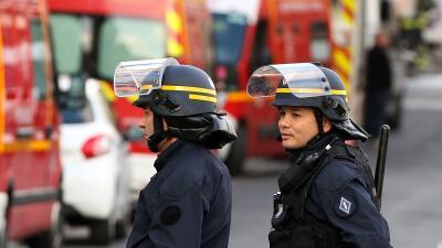 Policías en Francia
