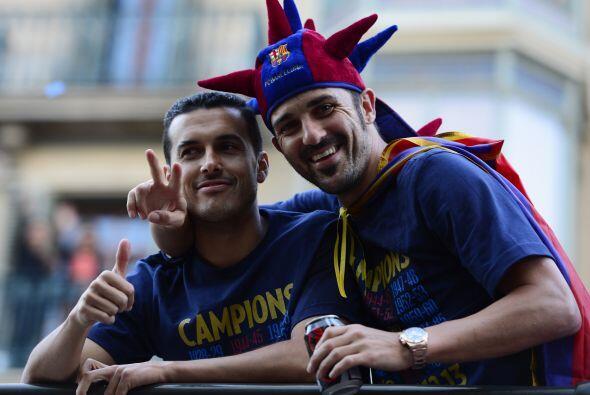 Pedro Rodríguez y David Villa, dos delanteros letales que adem&aa...