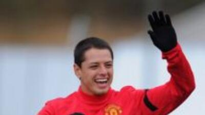 Javier 'Chicharito' Hernández sí jugará con Manchester United en Estados...