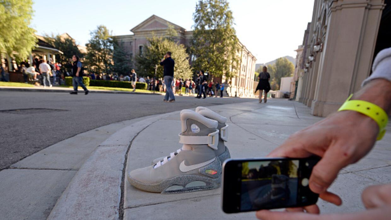 """Llegó el día de """"Volver al Futuro"""" y con él las zapatillas deportivas qu..."""