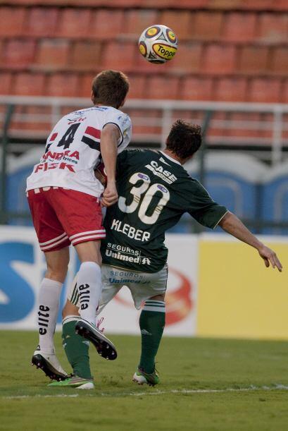 Palmeiras y Botafoto tuvieron un duelo muy cerrado en el inicio del Bras...