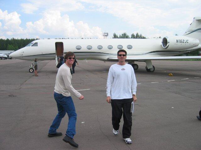 Puesto 11: A la hora de elegir aviones, Jim Carrey demostró estar muy le...